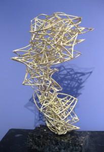 """Sun as Wind, 2012, 20"""" x 17"""" x 8"""" (50cm x  43 x 20), bronze, unique cast"""